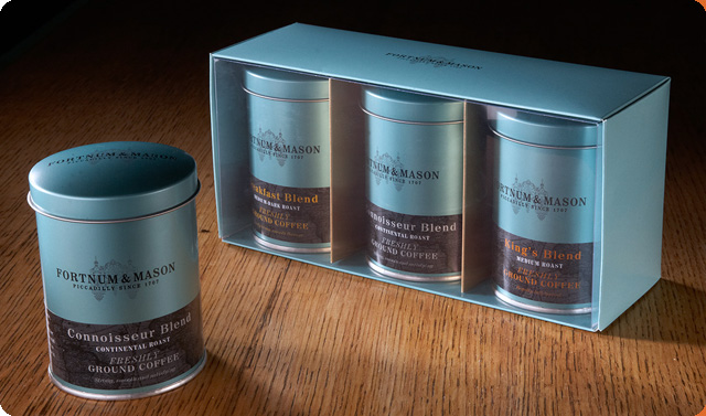 New tins for Fortnum and Mason