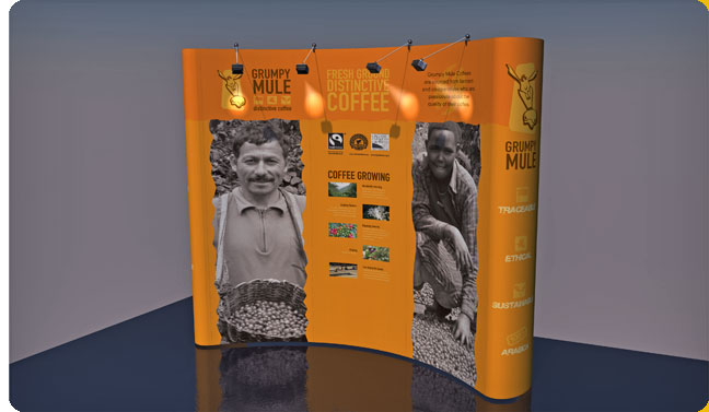 Exhibition Stand Design 3x3 Alternative Angle