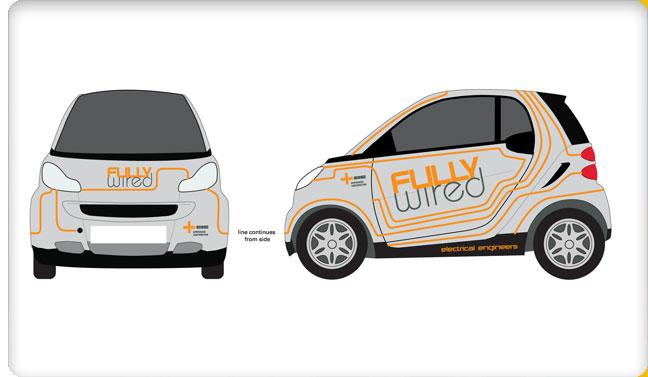vehicle livery   smart car
