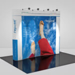 Repose Medical 3x3 pop up stand