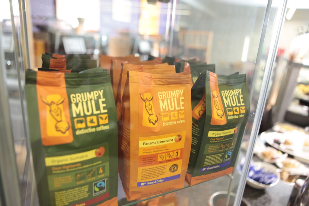 Grumpy Mule retail packs