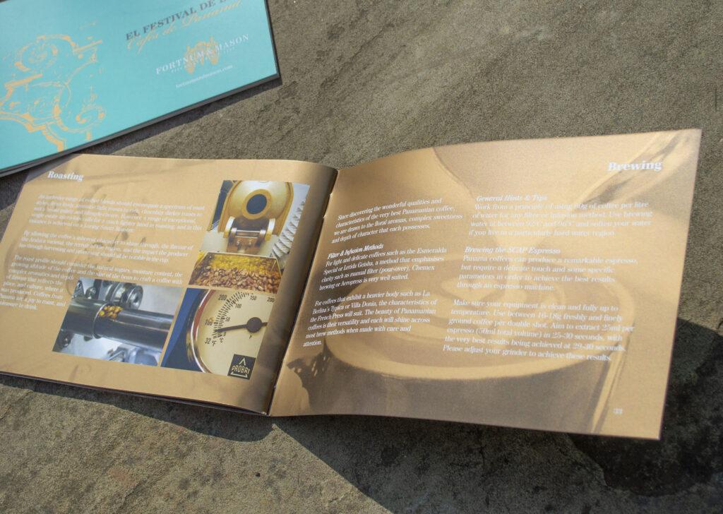 Fortnum & Mason brochure