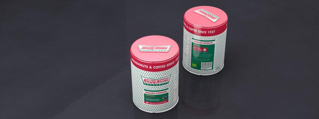 Krispy Kreme tins