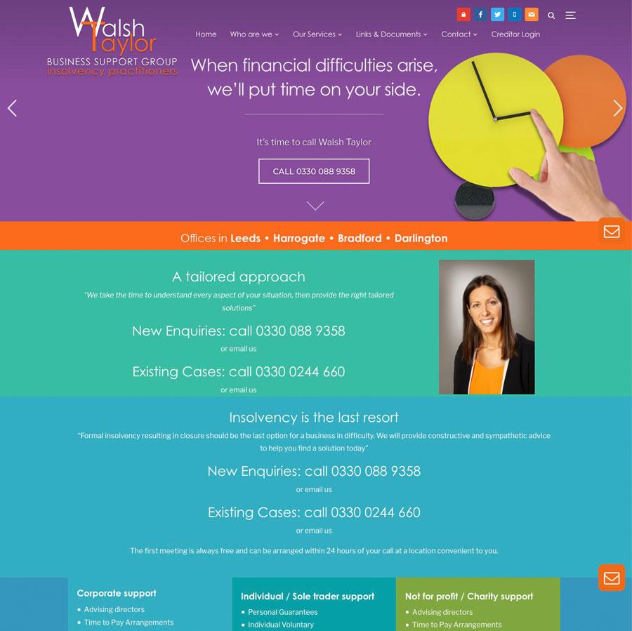 Walsh Taylor website